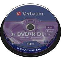 Verbatim DVD+R DL 8,5GB/240min, 10-pack